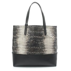 J. Crew Downing Tote In Embossed Leather